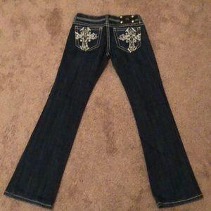 Miss Me sz:28 bootcut jeans